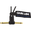 Quik Lok Pedal Connecting Flat Cable Gold 0.10m