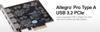 Allegro Pro USB 3.2 4-Port PCIe