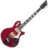 Supro Silverwood Trans Red