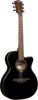 Lag Guitars T118ASCE-BLK