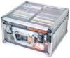 Rockbag DJ Transparent Case for 50 CD