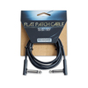 Rockboard Flat Patch Cable Black 100 cm
