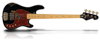Sandberg Cal2 VM4 BLK Maple HCA Dots