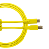 Ultimate Audio Cable USB 2.0 C-B Yellow Straight 1,5m