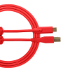Ultimate Audio Cable USB 2.0 C-B Red Straight 1,5m