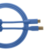 Ultimate Audio Cable USB 2.0 C-B Blue Straight 1,5m