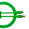 Ultimate Audio Cable USB 2.0 C-B Green Straight 1,5m