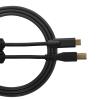 Ultimate Audio Cable USB 2.0 C-B Black Straight 1,5m