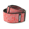 D67-11 JACQUARD PAISLEY RED STRAP