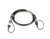 Magic FX CO2 high pressure hose 3/8 Male - Female, 1.25m
