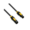 Neutrik Powercon True1 - Male to Female - Link cable 0,5m.