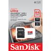 MicroSDXC Ultra 64GB 100MB/s UHS-I Adapt