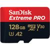 MicroSDXC Extreme Pro 128GB 170MB/s A2 C10 V30 U3