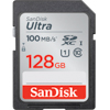 SDXC Ultra 128GB 100MB/s UHS-I Class 10