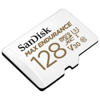 MicroSDXC 128GB Max Endurance med adapter