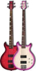 Daisy Rock Guitars Stardust Elite Bass Crimson Burst