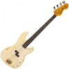 Vintage V4 Bass Icon- Vintage White