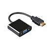 HDMI-VGA Digital Converter Gold Black