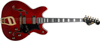 Hagström 67 Viking II Wild Cherry Transparent