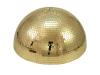 Eurolite Half Mirror Ball 50cm gold motorized