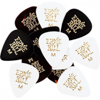 Ernie Ball EB-9178 Cellulose Picks Medium, Mixed Colors, 12