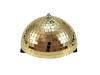 Eurolite Half Mirror Ball 20cm gold motorized