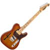Vintage Joe Doe by Vintage Lucky Buck - Honeyburst Guitar & Case