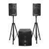 FULL ACTIVE SYSTEM SUB 15'' + 2x SAT 10'' (2packages)