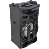 18'' - 900W PORTABLE ACTIVE BOX WITH LED EFFECTS MIXER/USB/SD/BT/FM