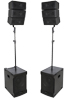Combo Speaker System 2.2 12/30cm 800W With BT/USB/SD/AUX