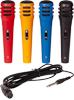 Lotronic Microphone Set 4PCS Colour