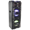Party Light & Sound 500W Sound System Tower ALL-IN-ONE 2x10' With USB, BT, MIC, FM