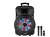 Party Light & Sound PARTY- MINI 15'' BOX 2xW/L MIC, TROLLEY, USB/TF/BT/RC/BATT