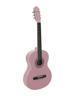 Dimavery AC-303 Classical Guitar, pink