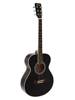 Dimavery AW-303 Western guitar black