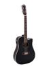 DR-612 Western guitar 12-string, black