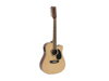 Dimavery DR-612 Western guitar 12-string, nature