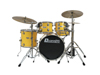 Dimavery DS-620 Drum Set, yellow