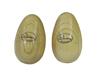 Egg shaker wood 2x