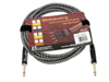 Instrument-cable, 3m, bk/sil
