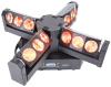 4-head led moving head with endless rotation
