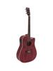 Dimavery JK-510 Western guitar, cutaway, grained