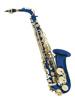 Dimavery SP-30 Eb Alto Saxophone, blue