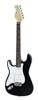 Dimavery ST-203 E-Guitar LH, black