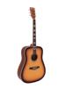 Dimavery STW-40 Western guitar, sunburst