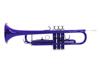 Dimavery TP-10 Bb Trumpet, blue