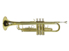 Dimavery TP-10 Bb Trumpet, gold