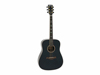 Dimavery TW-85 Western guitar, massive