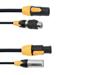 Combi Cable DMX IP T-Con/3 Pin XLR 1,5m