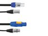 Eurolite Combi Cable DMX P-Con/3pin XLR 1,5m